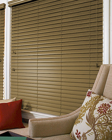 Chestnut Wooden Blinds