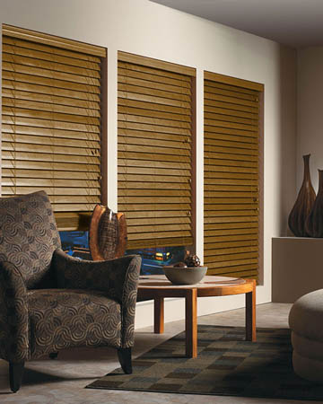 Abachi Wooden Blinds