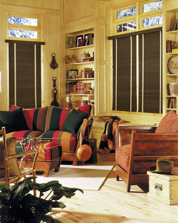 African Olivewood Wooden Blinds