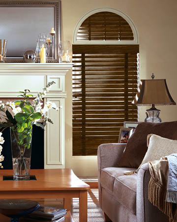 Antique Tulipwood Wooden Blinds