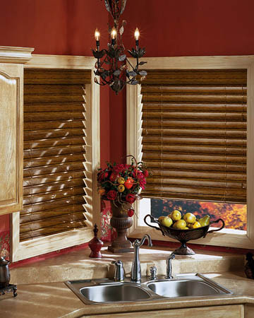 Distressed Douglas Fir Wooden Blinds