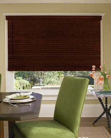 Distressed Red Narra Wooden Blinds