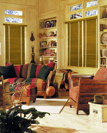 Harvester Oak Wooden Blinds