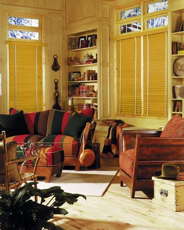 Marblewood Wooden Blinds