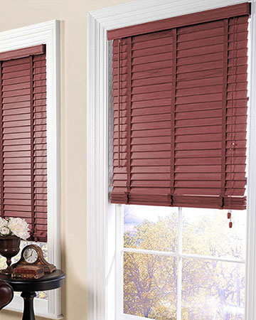 Marsala Wooden Blinds
