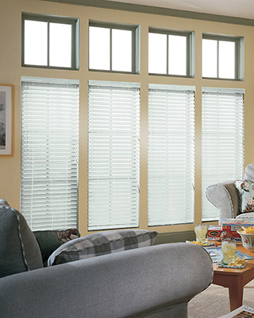 Matt White Wooden Blinds