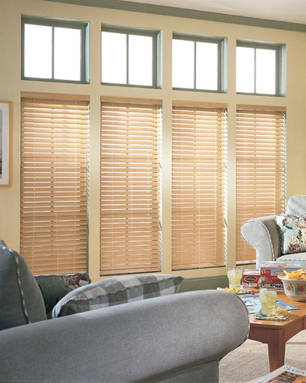 premium natural wooden blinds