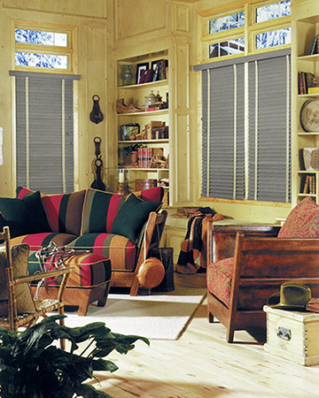 Dark Shale Wooden Blinds