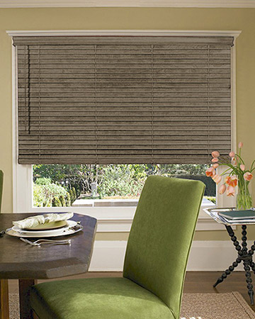 Hickory Wooden Blinds