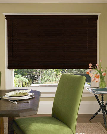 Premium Mahogany Wooden Blinds