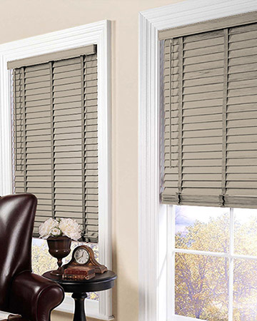 Nougat Wooden Blinds