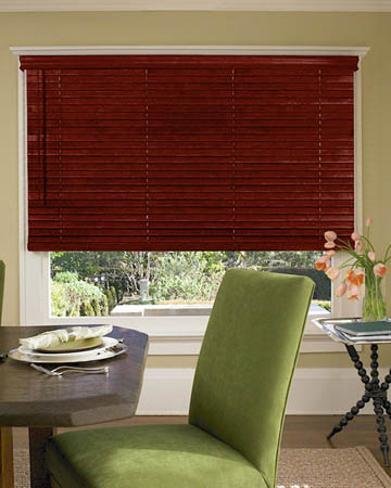 Premium Redwood Wooden Blinds