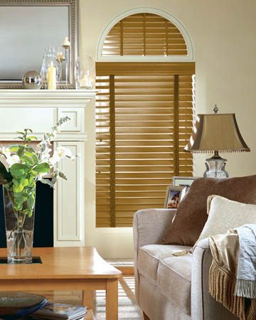 Real Oak Lacquered Wooden Blinds